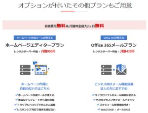 お名前.com レンタルサーバー オプション付きプラン
