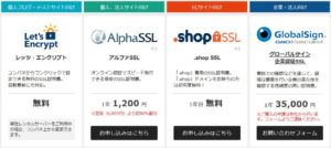 バリュードメイン SSL証明 価格